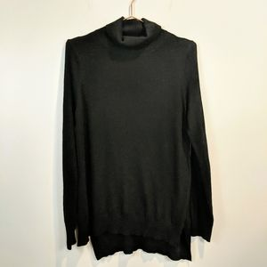 Lulus  Black Basic Turtle Neck sweater